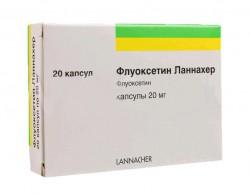 Флуоксетин Ланнахер, капс. 20 мг №20
